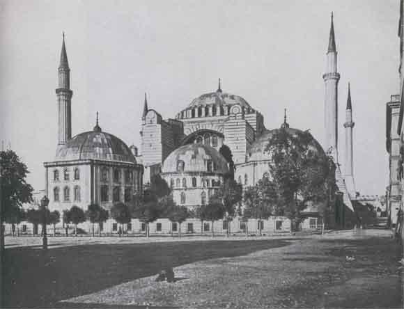 Церковь св софии в константинополе 532