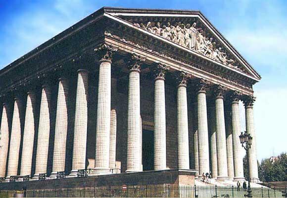 Б виньон церковь мадлен в париже 1806
