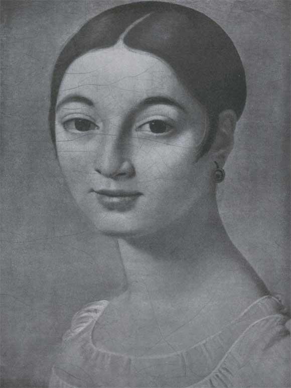 Ривьер фрагмент 1805 париж лувр