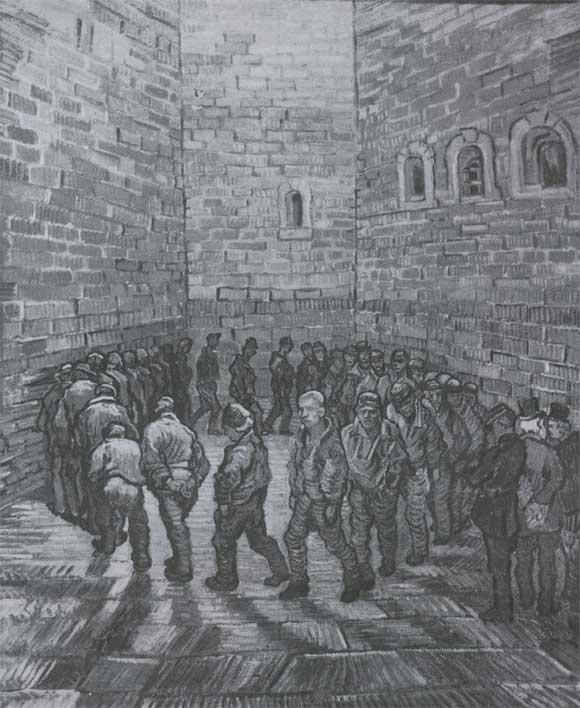 В ван гог круг заключенных 1890 москва